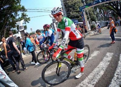 هفتمی دهقان در دوچرخه سواری جاده بازی های آسیایی