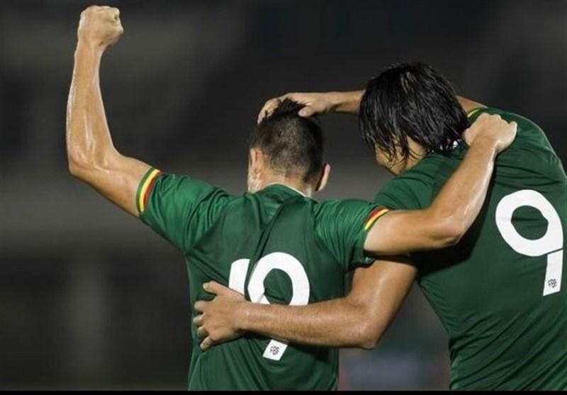 بازگشت تیم فوتبال بولیوی به پیروزی های پرگل در آستانه بازی با ایران