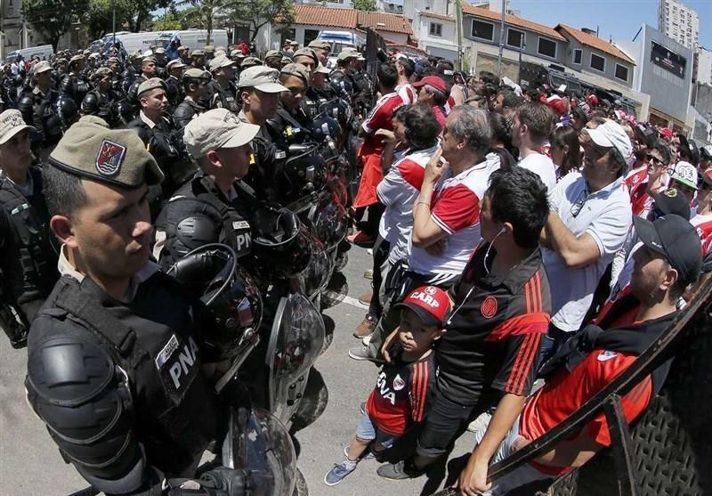ریورپلاته با بازی در استادیوم سانتیاگو برنابئو مخالفت کرد