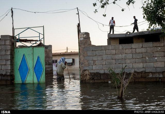امدادرسانی به 68 خانواده آسیب دیده در مناطق سیلابی خوزستان