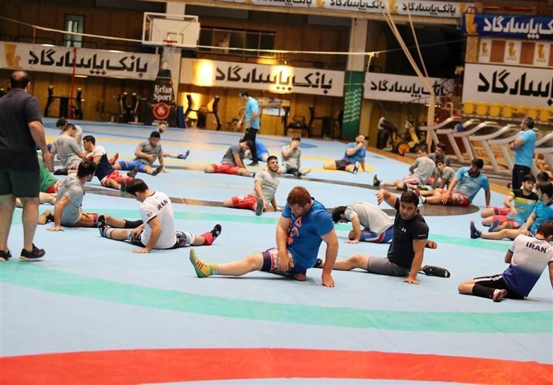 پنجشنبه، انتها مرحله سوم اردوی تیم ملی کشتی آزاد