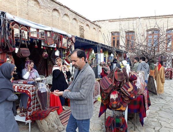 هشت نمایشگاه صنایع دستی در شهرهای مختلف استان کردستان میزبان مهمانان نوروزی هستند
