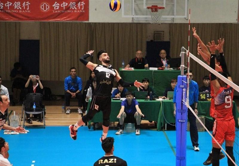 والیبال باشگاه های آسیا، شهرداری ورامین با انتقام از نماینده ژاپن قهرمان شد