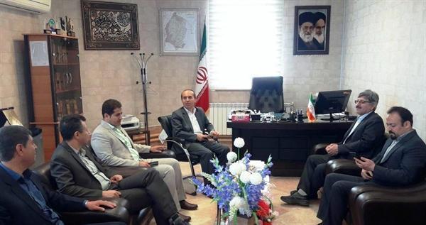 مدیرکل میراث فرهنگی کردستان با فرماندار دهگلان دیدار کرد