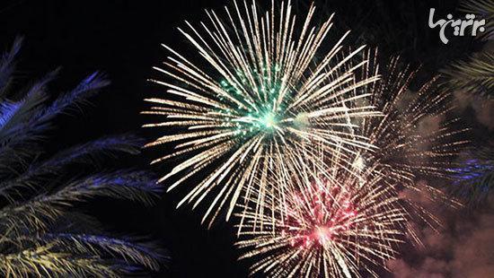 بزرگ ترین آتش بازی هایی که برای سال نو میلادی ترتیب داده شده اند
