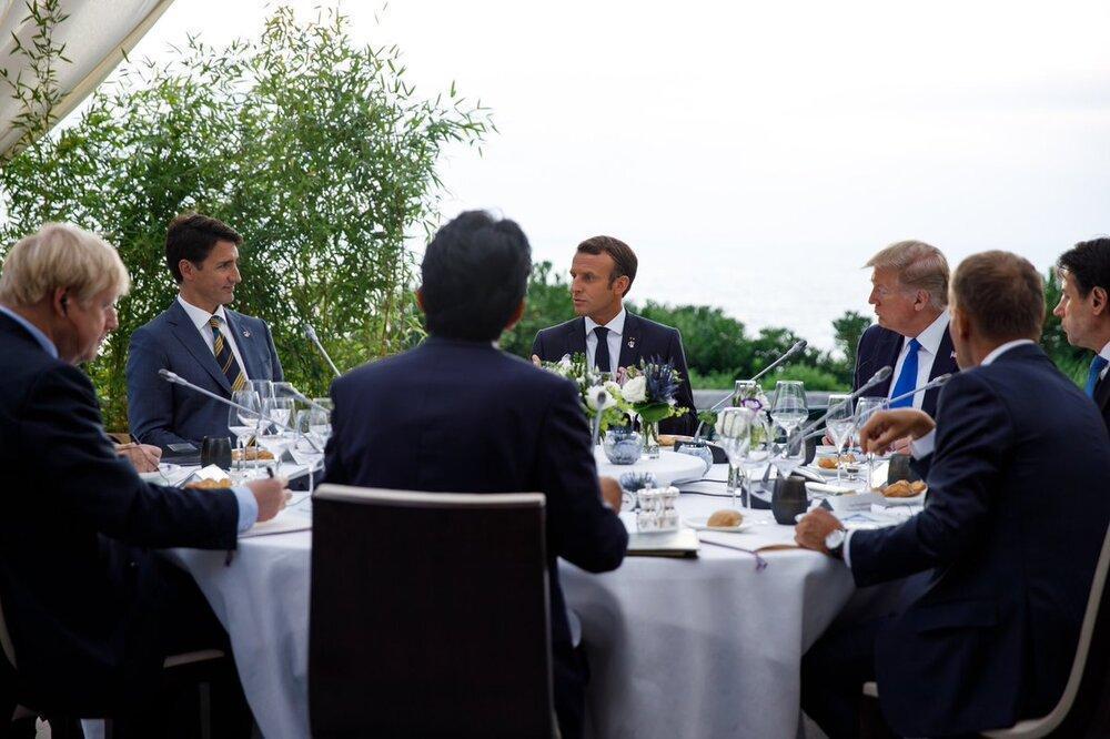 نشست پر تنش 7 کشور صنعتی ، پیام حضور ظریف در بیاریتز چه بود؟