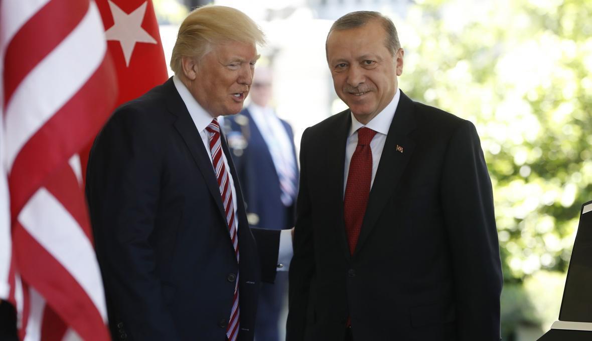 استقبال اردوغان از اظهارات ترامپ درباره دیدار با روحانی