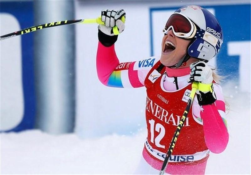 تصاویر مسابقات جهانی اسکی در راستا شیبدار