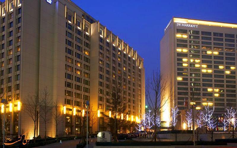 معرفی هتل 5 ستاره جی دبلیو مریوت در پکن