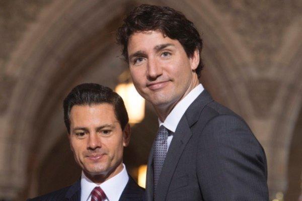 رهبران مکزیک و کانادا بر اهمیت نفتا تاکید کردند