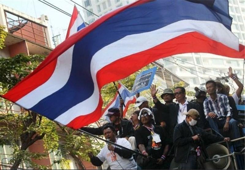 تظاهرات مخالفان تایلند دو روز پیش از برگزاری انتخابات پارلمانی