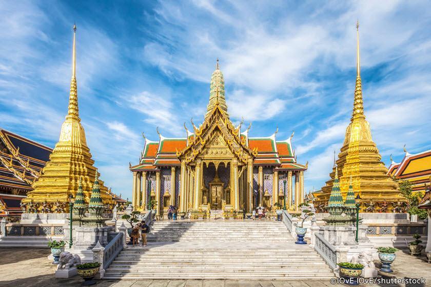 کاخ بزرگ تایلند، جاذبه ای شگفت انگیز