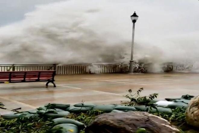 شدیدترین طوفان سال به چین رسید