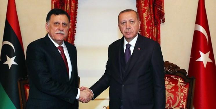 رئیس دولت وفاق ملی لیبی در استانبول با اردوغان دیدار کرد