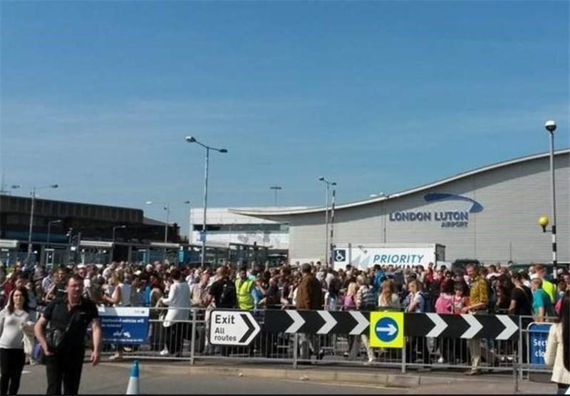 تخلیه فرودگاه لوتون انگلیس به دلیل وجود بسته مشکوک