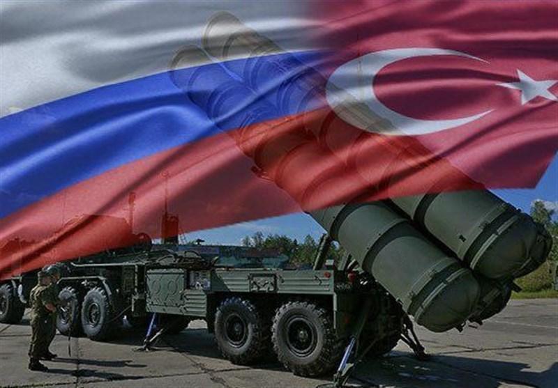برگزاری آزمایش امنیت هوایی ترکیه توسط سامانه موشکی اس 400
