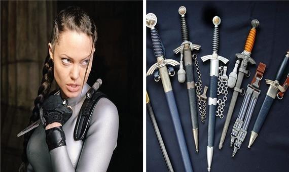 کلکسیون های عجیب سلبریتی ها ، از خنجرهای آنجلینا جولی تا اسباب بازی های دی کاپریو