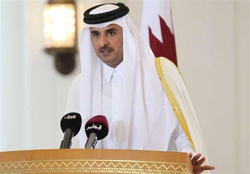 سفر رسمی دو روزه امیر قطر به اردن