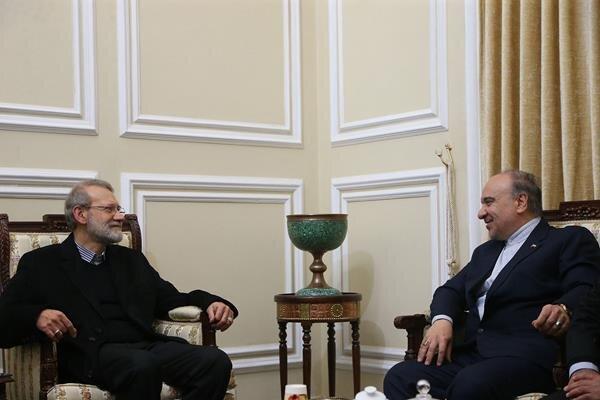 حمایت رئیس مجلس از حقوق فدراسیون، باشگاه ها و طرفداران فوتبال ایران