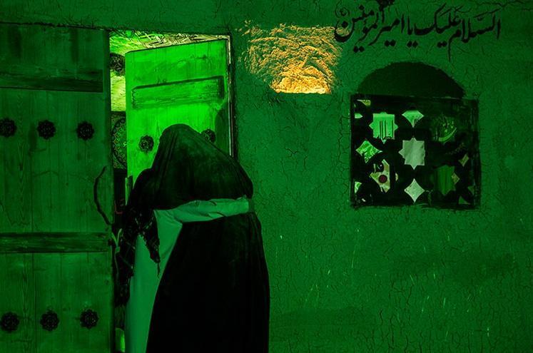 مجلس تعزیه خوانی حضرت فاطمه(س) در تئاتر شهر