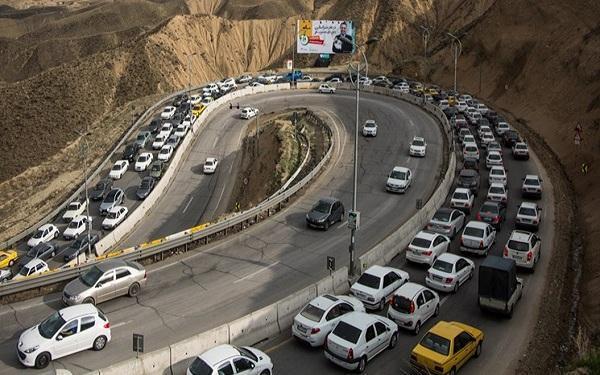 کاهش 57 درصدی تردد ها در 17 روز، 30 هزار خودرو هنوز به شهر های مبدأ بازنگشته اند