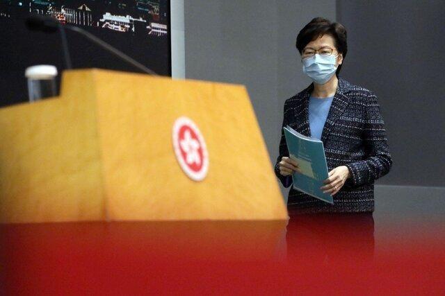 واکنش دولت هنگ کنگ به قانون جدید چین