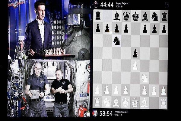 مسابقه شطرنج بین تیم هایی از زمین و فضا !