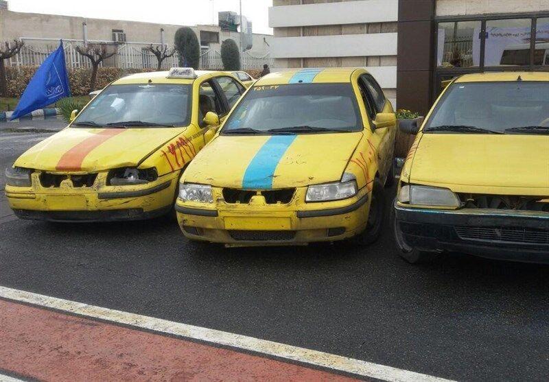 خبرنگاران نوسازی تاکسی های ورامین شروع شد