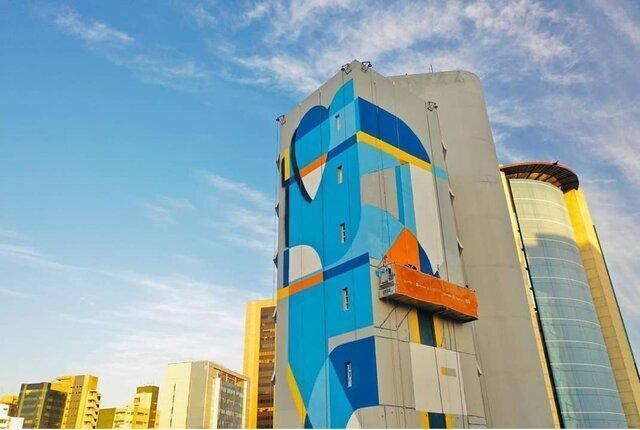 برزیلی ها با گرافیتی به جنگ کرونا می فرایند
