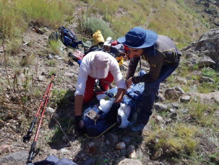 فوت یک کوهنورد در مشهد