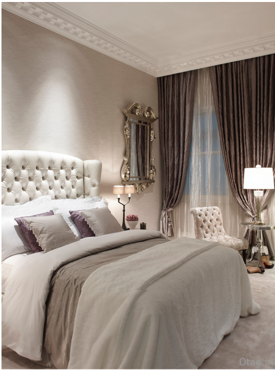 دکوراسیون اتاق خواب با طراحی و چیدمان فوق العاده شیک
