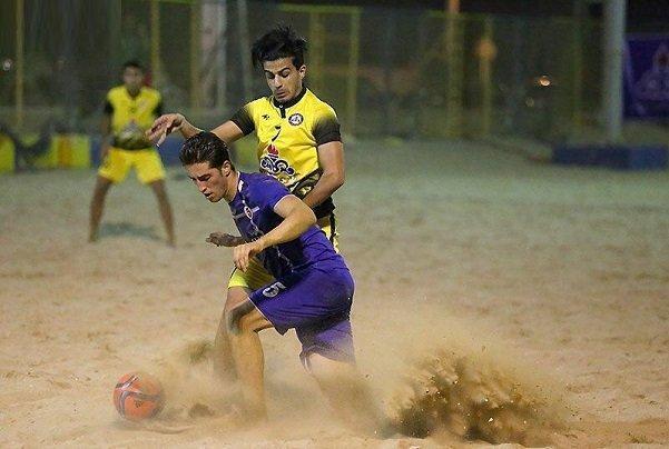 دور نهایی لیگ فوتبال ساحلی در سمنان شروع شد، بوشهر پیروز گام نخست