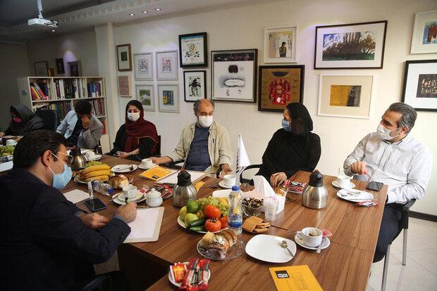آغاز به کار نهمین دوسالانه نقاشی تهران پس از 9 سال