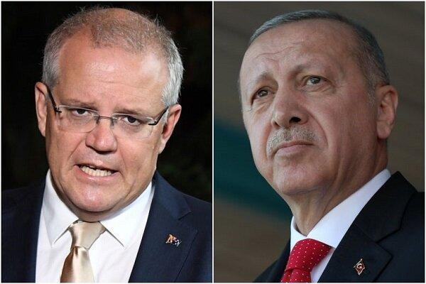 اردوغان و نخست وزیر استرالیا مصاحبه کردند