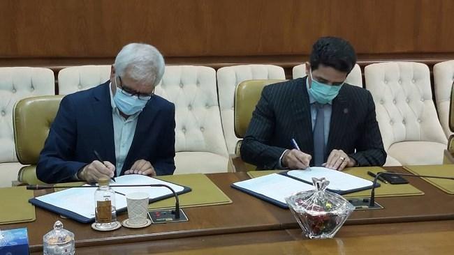 امضای تفاهم نامه دو جانبه همکاری میان سازمان منطقه آزاد کیش و کمیسیون گردشگری اتاق ایران