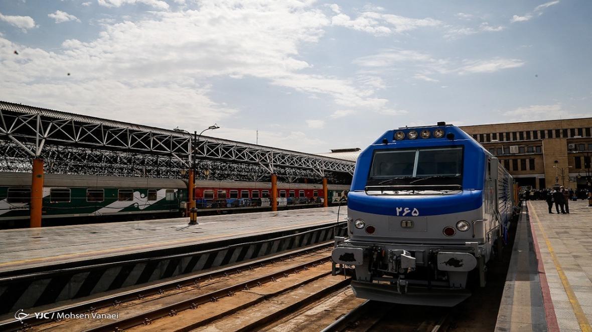 راه آهن بین المللی خواف-هرات به بهره برداری رسید