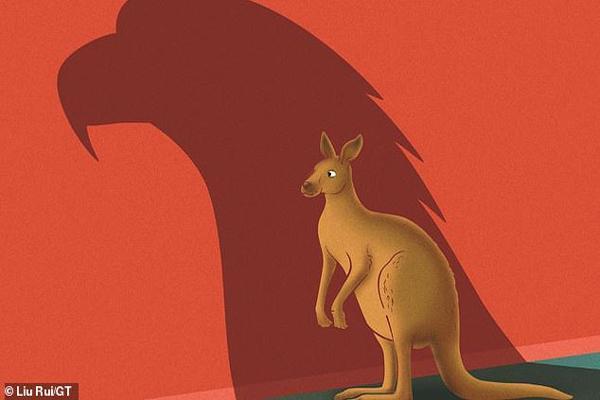 ادعای جدید چینی ها: استرالیا منشا ویروس کرونا در دنیا است ، طرح کنایه آمیز روزنامه گلوبال تایمز (عکس)