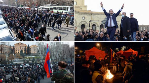 جدال پاشینیان برای حفظ قدرت در ارمنستان