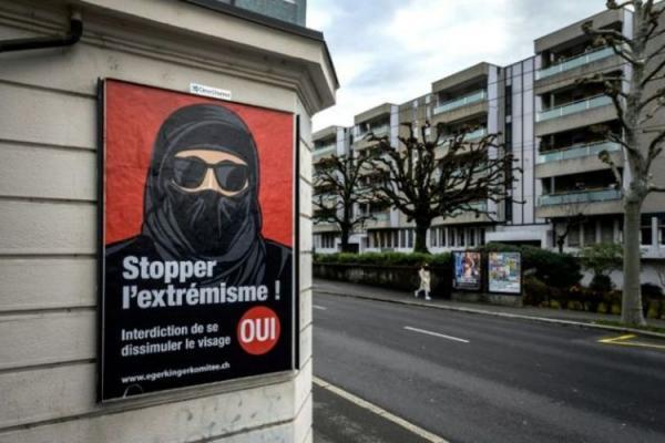 سوئیسی ها به ممنوعیت پوشش کامل صورت رأى دادند