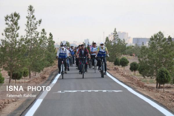مشارکت مردم در سنت حسنه درختکاری در جاده سلامت یزد