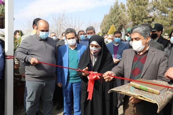 خبرنگاران باغهای زندگی و خاطره در مشهد افتتاح شدند