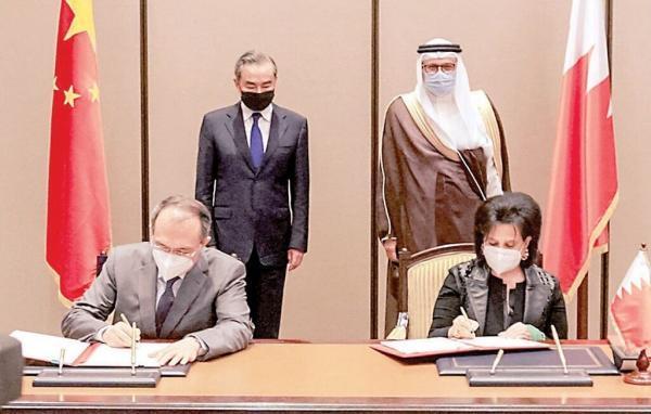 خبرنگاران بحرین و چین توافقنامه همکاری فرهنگی امضا کردند