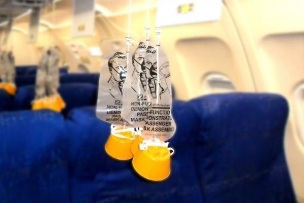 چطور از ماسک اکسیژن در پرواز استفاده کنیم؟