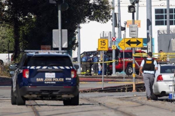 کارگر راه آهن کالیفرنیا جانِ خود و 8 همکارش را گرفت