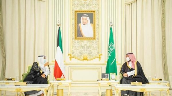 تحولات منطقه ، محور دیدار ولیعهد کویت با همتای سعودی خود