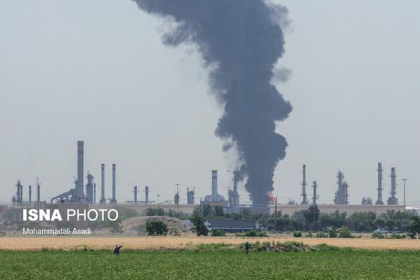 آخرین شرایط حریق پالایشگاه تهران، ادامه عملیات سردکردن مخزن تا صبح فردا