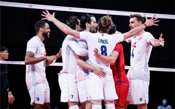 لیگ ملت های والیبال؛ فرانسه با انتقام صدرنشین ماند