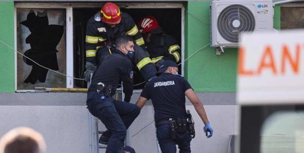 آتش سوزی در بیمارستانی در رومانی حداقل 9 کشته برجا گذاشت